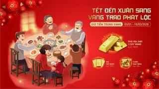 """""""Tết đến Xuân sang - Vàng trao phát lộc"""" cùng NCB"""