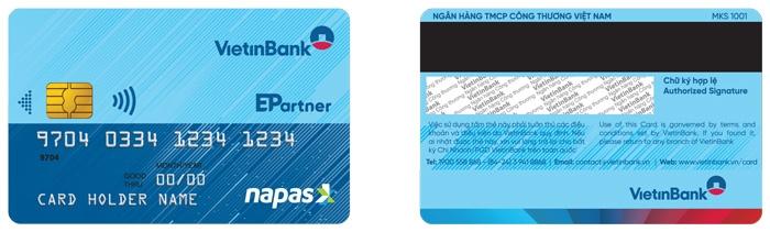 Miễn phí chuyển đổi thẻ chip VietinBank Napas và hoàn 20% khi thanh toán
