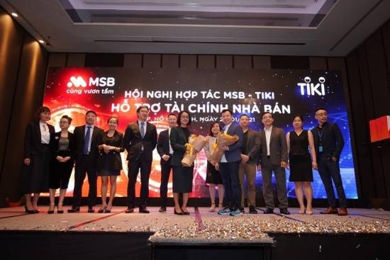 Ngân hàng MSB hợp tác toàn diện với Tiki
