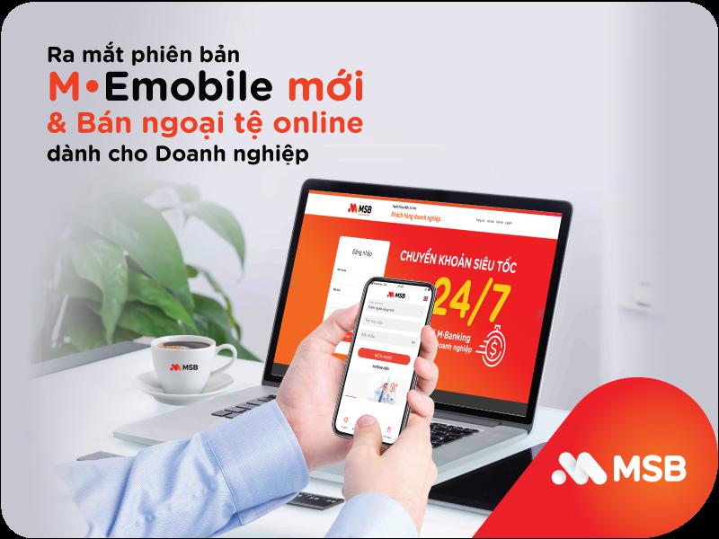 MSB ra mắt phiên bản M-emobile hoàn toàn mới cho khách hàng doanh nghiệp