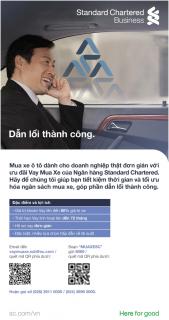 Standard Chartered Việt Nam ra mắt chương trình vay mua xe cho doanh nghiệp