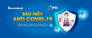 Sacombank triển khai sản phẩm bảo hiểm Anti Covid–19