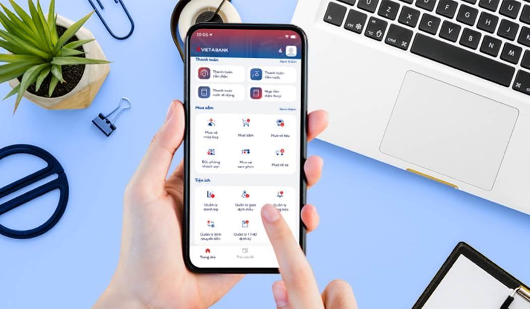 VietABank ra mắt ứng dụng Ngân hàng số Mobile Banking phiên bản mới