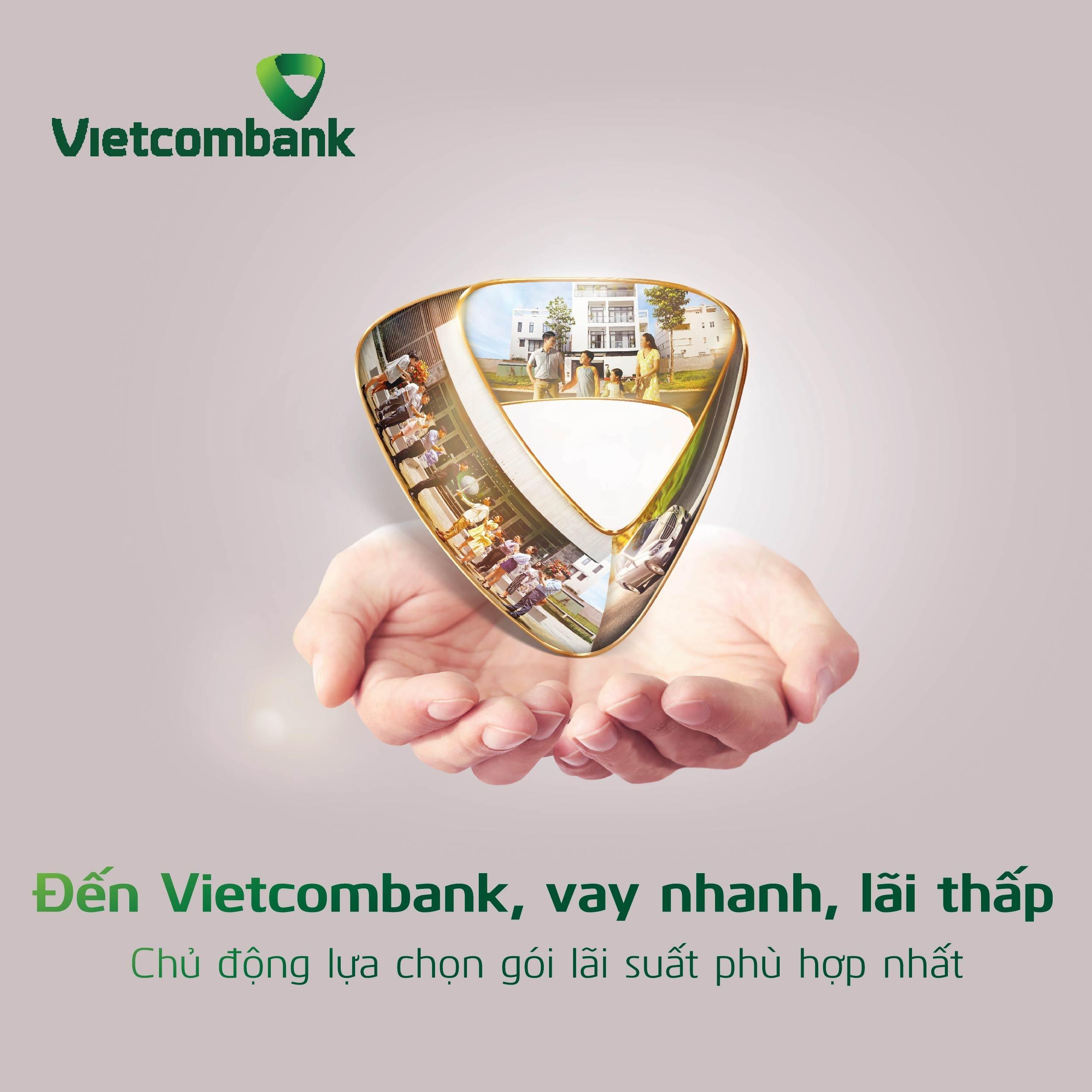 Vietcombank ưu đãi lãi suất cho khách hàng cá nhân và SME vay vốn