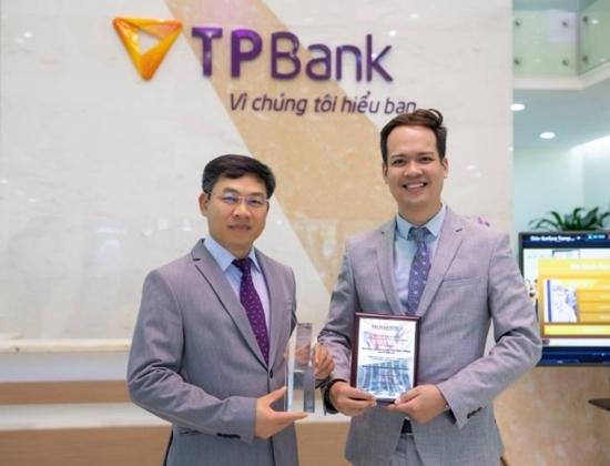 TPBank giành 2 giải thưởng quốc tế về ngân hàng số