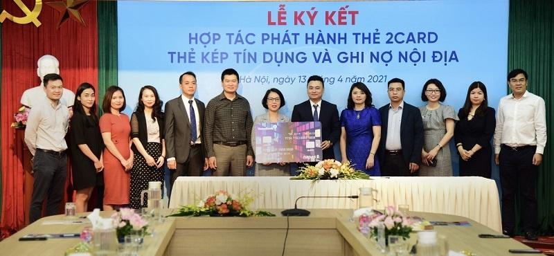 napas va vietinbank hop tac phat hanh the chip 2card dong the noi dia lan dau co mat tai viet nam