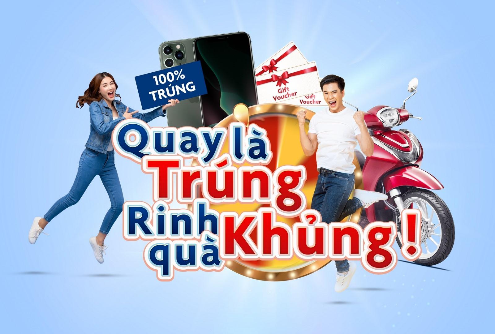 """UOB Việt Nam giới thiệu chương trình """"Quay Là Trúng, Rinh Quà Khủng"""""""