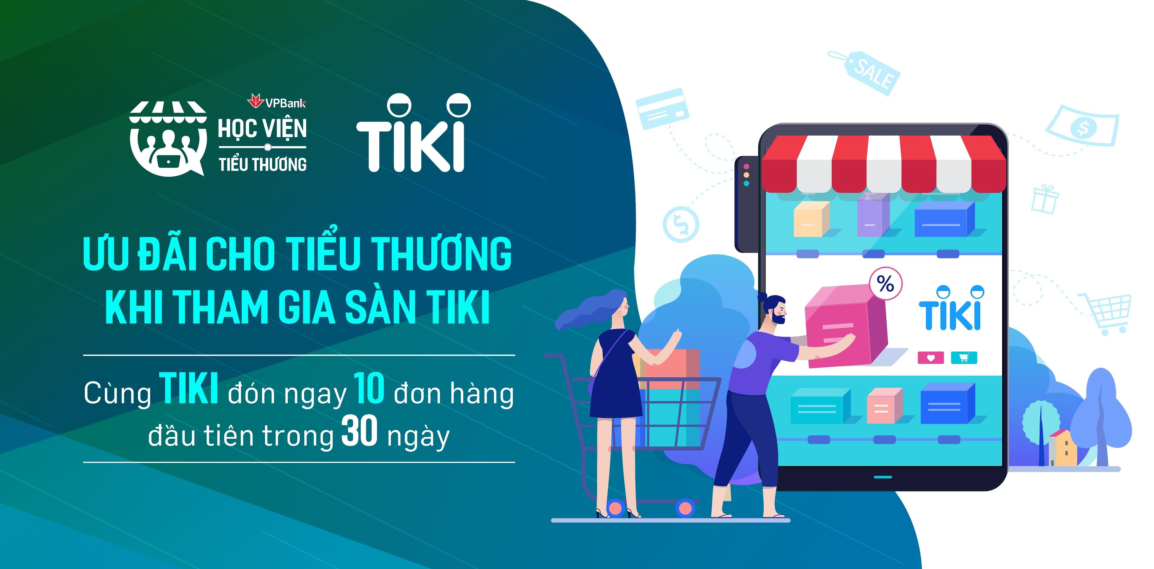 tiki cam ket ho tro one by one cho tieu thuong vpbank