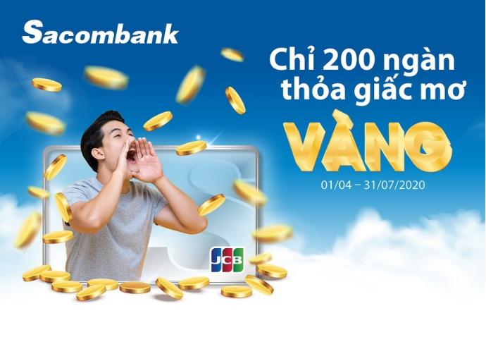 Sacombank quay thưởng tìm ra chủ nhân lượng vàng 9999