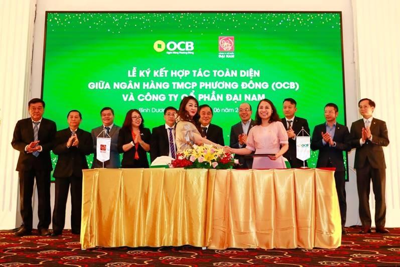 OCB và Công ty Cổ phần Đại Nam ký kết hợp tác toàn diện