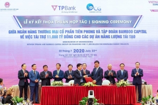 TPBank rót 11.000 tỷ đồng vào các dự án năng lượng tái tạo