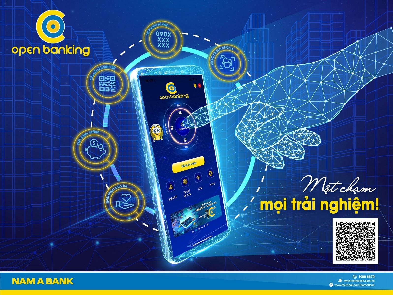 open banking phien ban 20 voi nhieu tinh nang uu viet