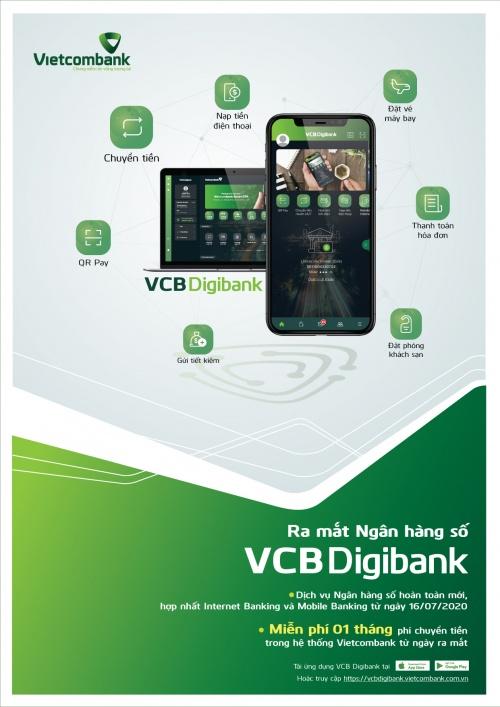 VCB Digibank - Dịch vụ ngân hàng số đáp ứng sự trải nghiệm của khách hàng trong từng giao dịch