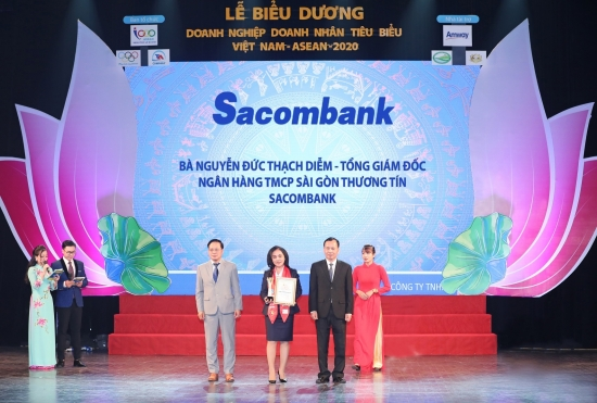 Sacombank đạt giải thưởng doanh nghiệp tiêu biểu Asean