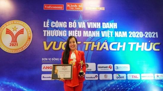 Techcombank top 10 thương hiệu mạnh Việt Nam 2021