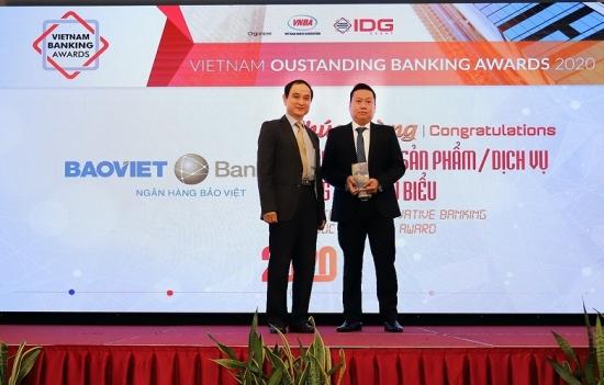 BAOVIET Bank lần thứ hai đạt giải sản phẩm dịch vụ sáng tạo tiêu biểu