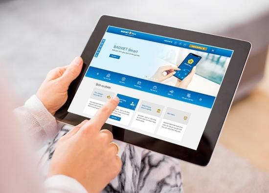 BAOVIET Bank tăng trải nghiệm khách hàng với website phiên bản mới