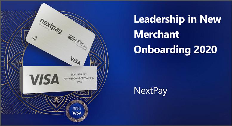 Nextpay Vietnam hai năm liên tiếp được Visa trao tặng Giải thưởng về mở rộng điểm chấp nhận thanh toán