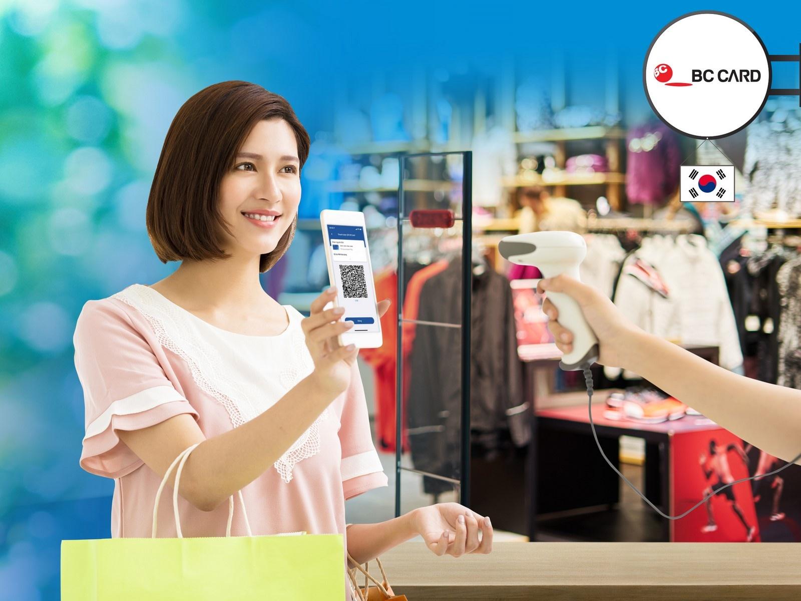 Sacombank triển khai thanh toán QR tại điểm chấp nhận của BC Card ở Hàn Quốc