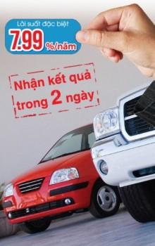 Vay mua ô tô với lãi suất đặc biệt chỉ từ 7,99%/năm tại Sacombank
