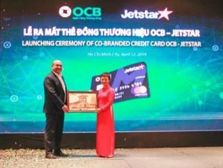 OCB và Jetstar Pacific triển khai thẻ đồng thương hiệu