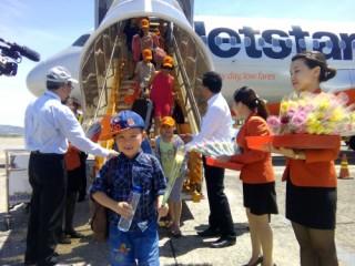 Jetstar Pacific ưu tiên thủ tục bay cho gia đình có trẻ em và người cao tuổi