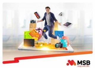 Thẻ tín dụng MSB hoàn tiền đến 20%