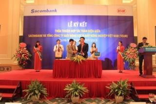Sacombank hợp tác với VEAM