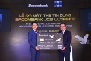 Sacombank ra mắt dòng thẻ cao cấp
