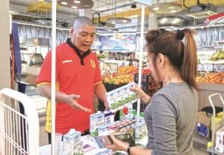 Sữa tươi Vinamilk đã trở nên quen thuộc tại Singapore