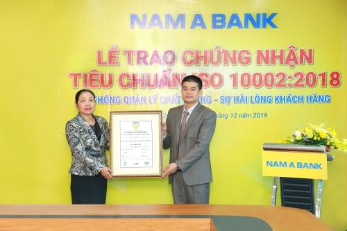 Nam A Bank nâng tầm chất lượng dịch vụ 5 sao