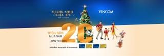 Giáng sinh diệu kỳ với thẻ tín dụng quốc tế Sacombank