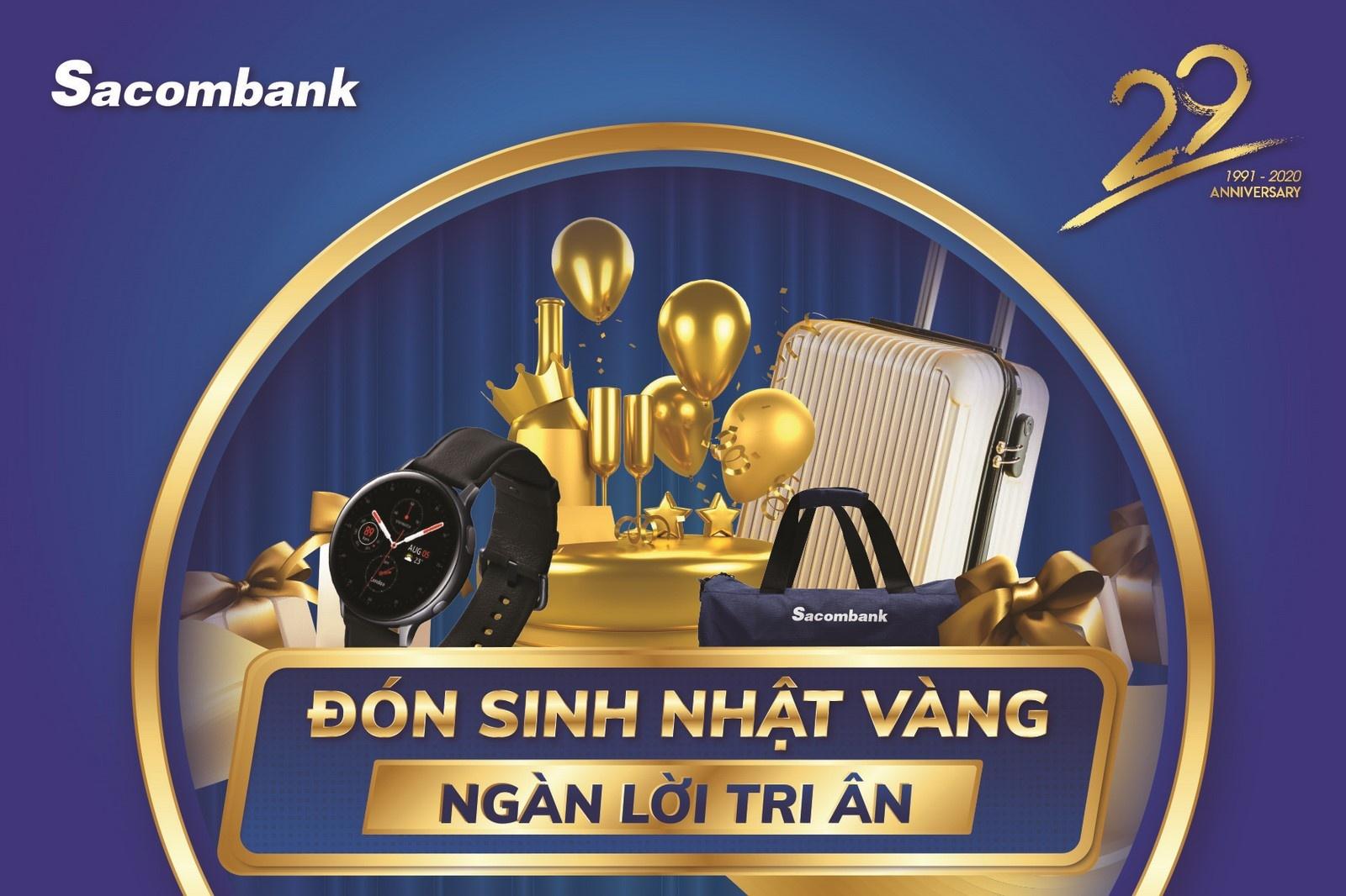 Sacombank tung ra khuyến mãi lớn nhất trong năm