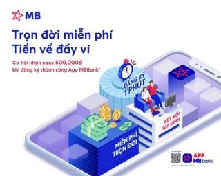 App MBBank ra mắt phiên bản mới với tổng giá trị ưu đãi lên đến 2 tỷ đồng