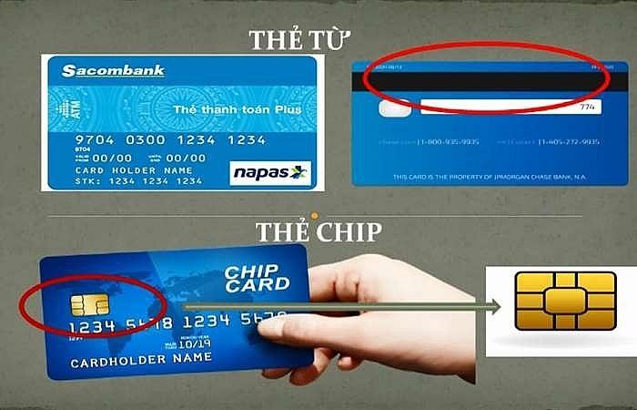 chuyen doi the tu sang the chip buoc dot pha ve bao mat va tien ich cho khach hang