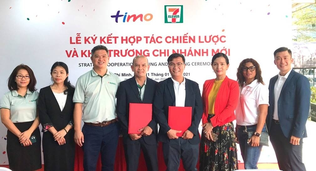 timo va 7 eleven hop tac chien luoc thuc day nen tang ngan hang so