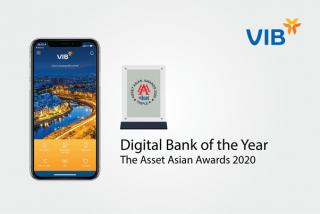 VIB lần thứ tư liên tiếp nhận giải thưởng Ngân hàng số từ The Asset