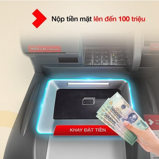 Techcombank thêm tiện ích trên ATM thế hệ mới, thuận tiện giao dịch trong bối cảnh dịch Covid-19
