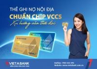 vietabank ra mat the quoc te visa va the noi dia chuan vccs