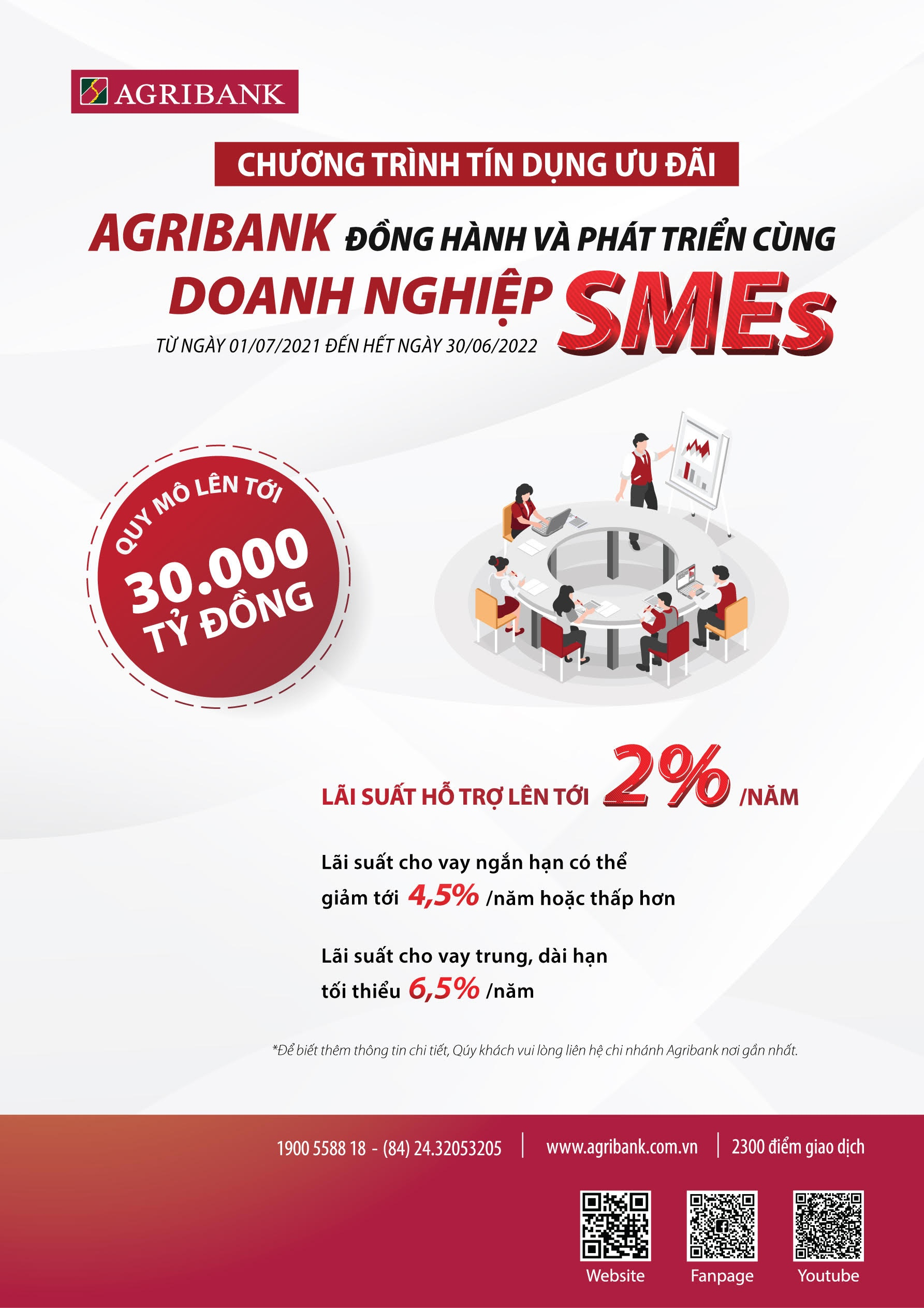 agribank tiep tuc danh 30000 ty dong de dong hanh va phat trien cung doanh nghiep smes