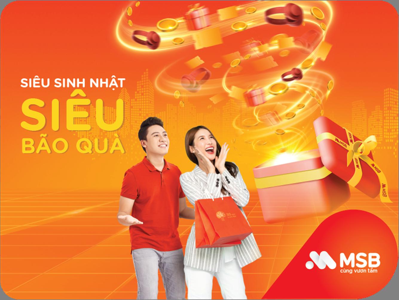 MSB tặng hơn 40.000 phần quà tri ân khách hàng