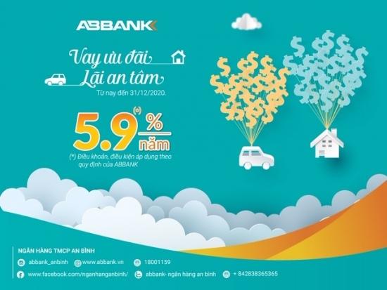 ABBANK giảm lãi suất cho vay về 5,9%/năm