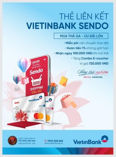 Thẻ MasterCard Platinum VietinBank Sendo: Đặc quyền ưu đãi không giới hạn