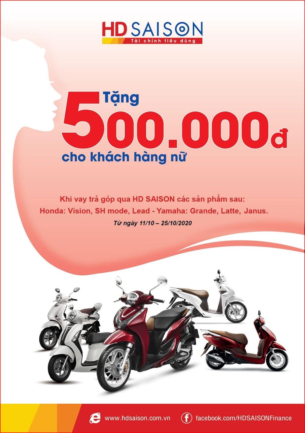 hd saison tang qua khach hang nu nhan dip 2010