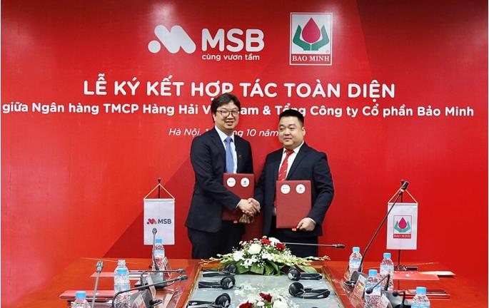 MSB ký kết hợp tác toàn diện với Bảo Minh