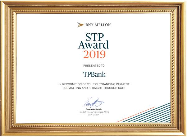 TPBank nhận 2 giải thưởng về thanh toán và chuyển tiền quốc tế