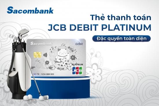 Sacombank ra mắt dòng thẻ thanh toán cao cấp nhất của JCB tại Việt Nam