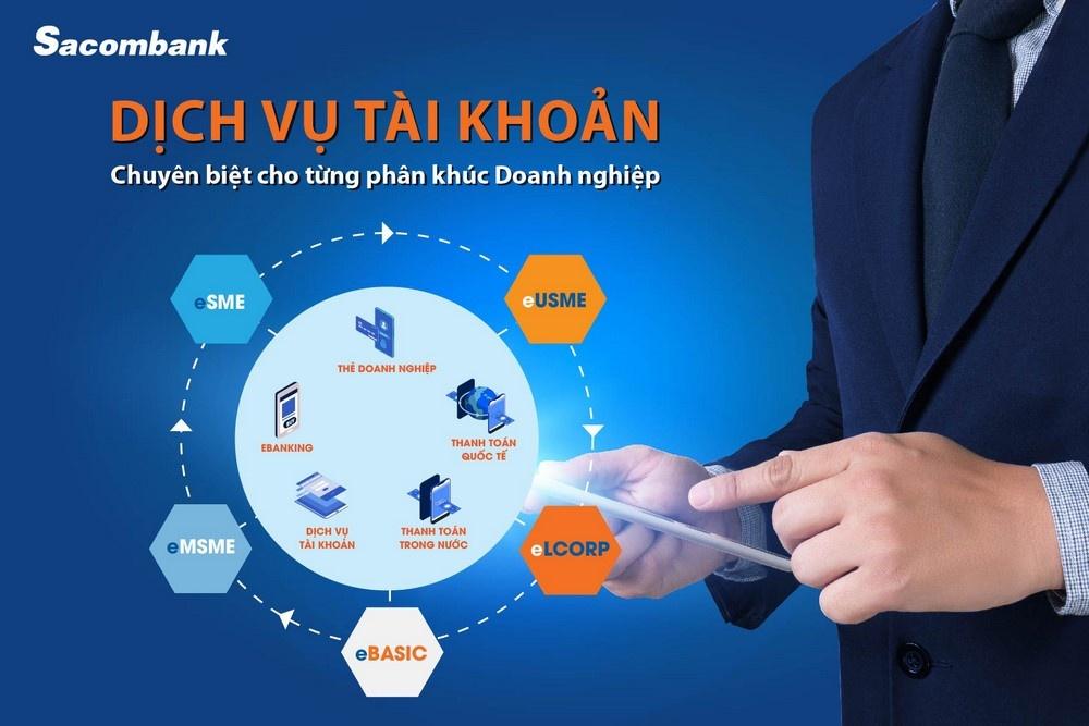 Dịch vụ tài khoản trọn gói theo quy mô hoạt động của doanh nghiệp