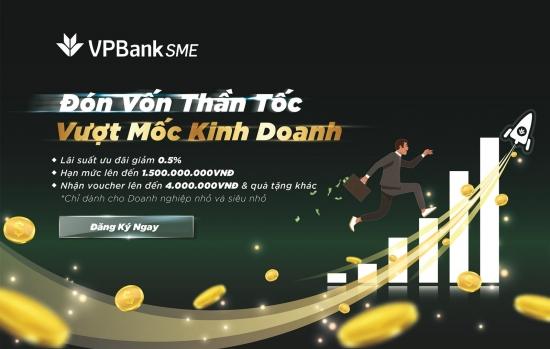 VPBank giảm lãi suất, mạnh tay tiếp vốn cho doanh nghiệp nhỏ