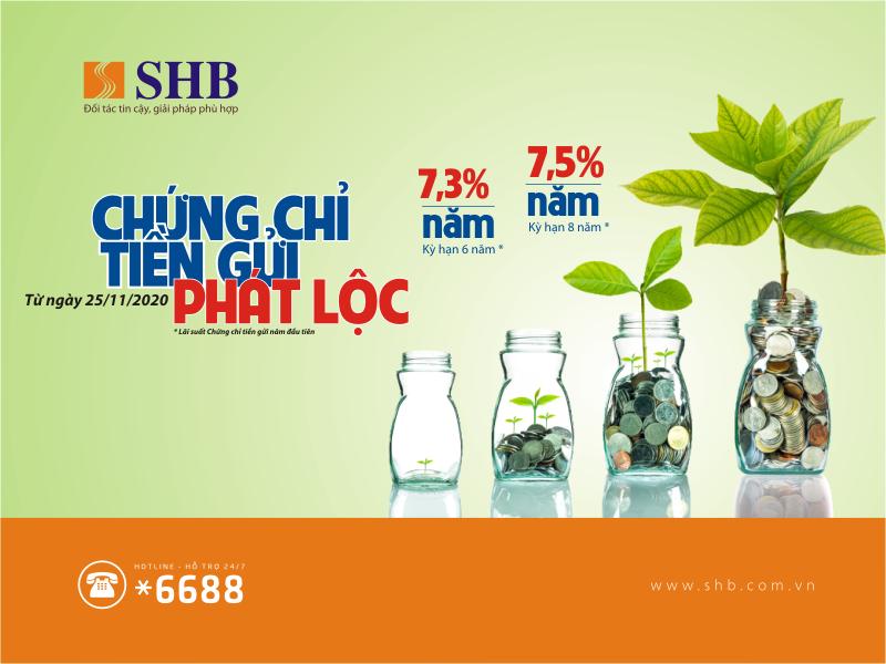 shb phat hanh chung chi tien gui lai suat hap dan den 75nam